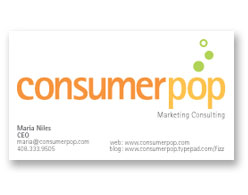 Consumer Pop Business Card