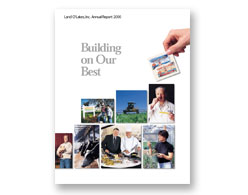 Land O'Lakes annual report 2000